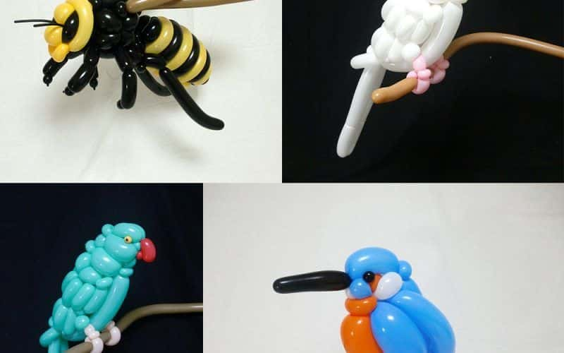 sculptures de ballons