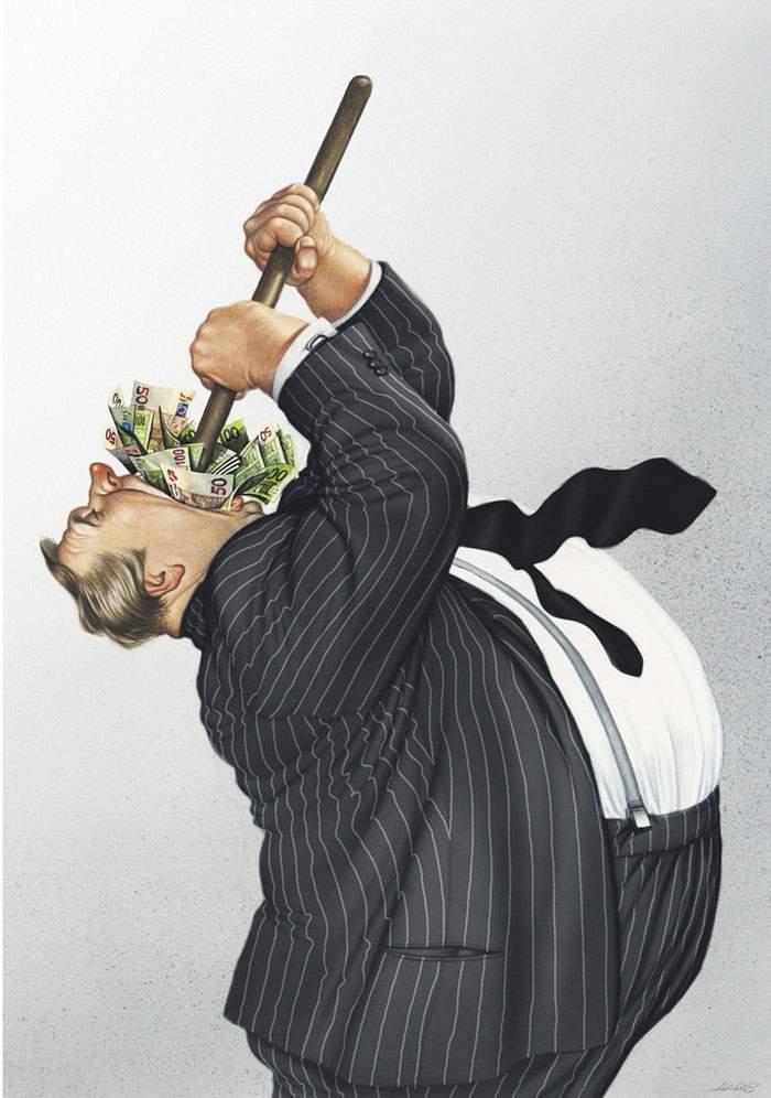 illustrations brutalement honnêtes Gerhard Haderer
