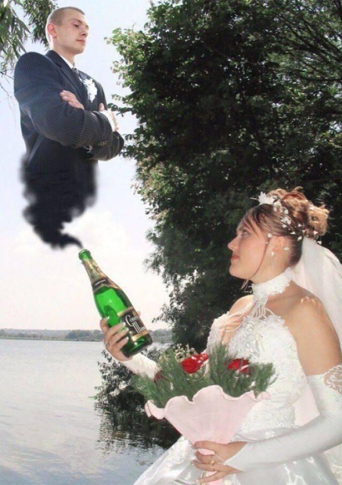 Elle a trouvé l'amour au fond d'une bouteille
