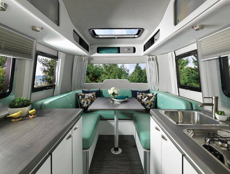 Captivant Cheap Introducing Nest By Airstream Travel Trailer With Caravane Airstream  Interieur