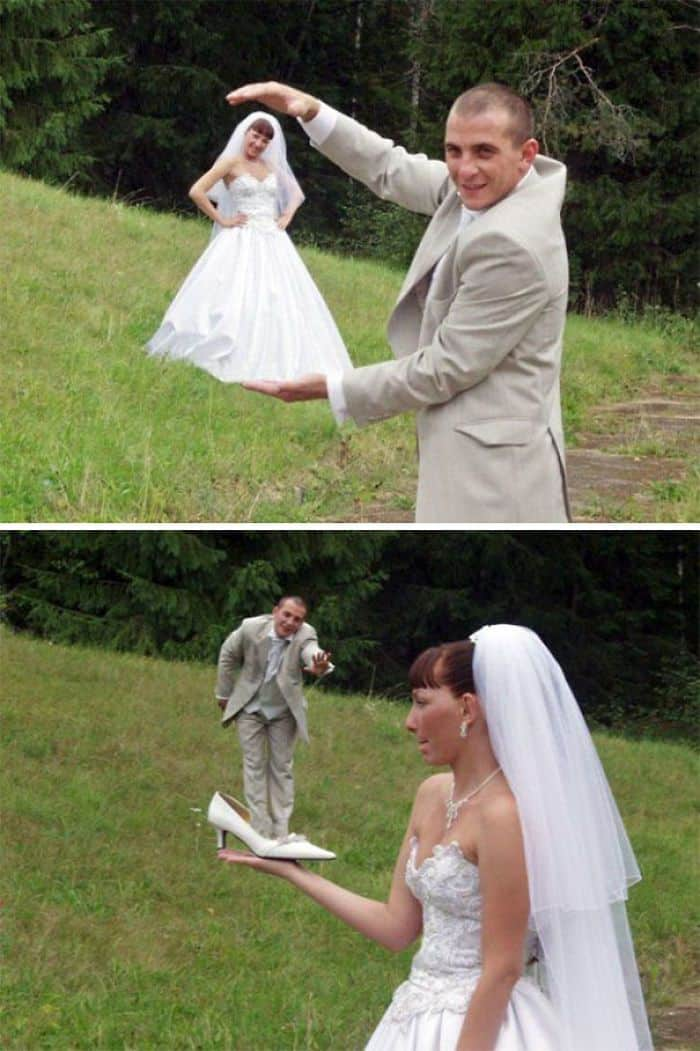 Les coups nécessaires de chaque mariage russe