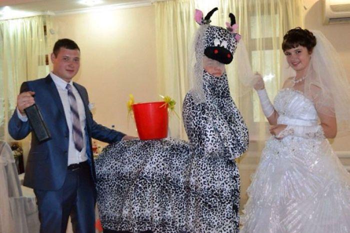 Mariages russes semblent amusant