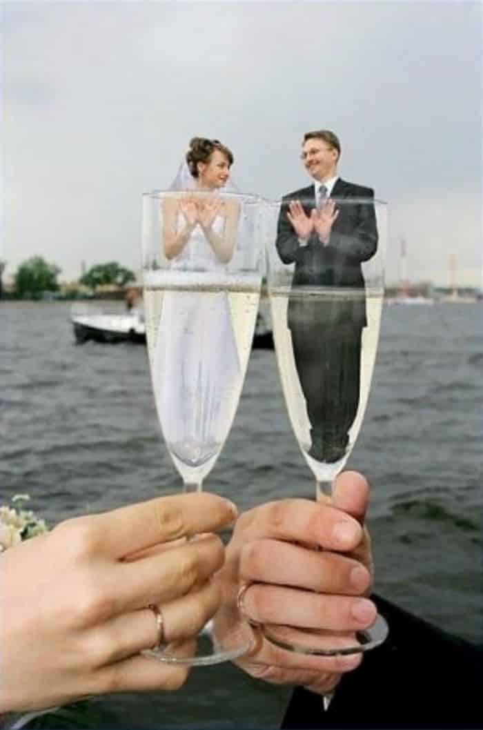 Toast à un mariage parfait
