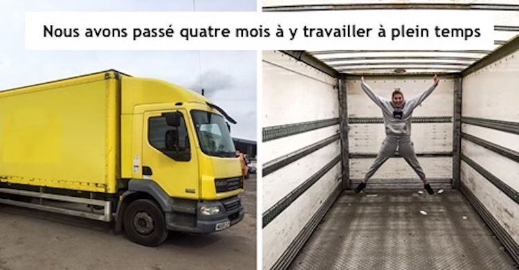 convertir un vieux camion