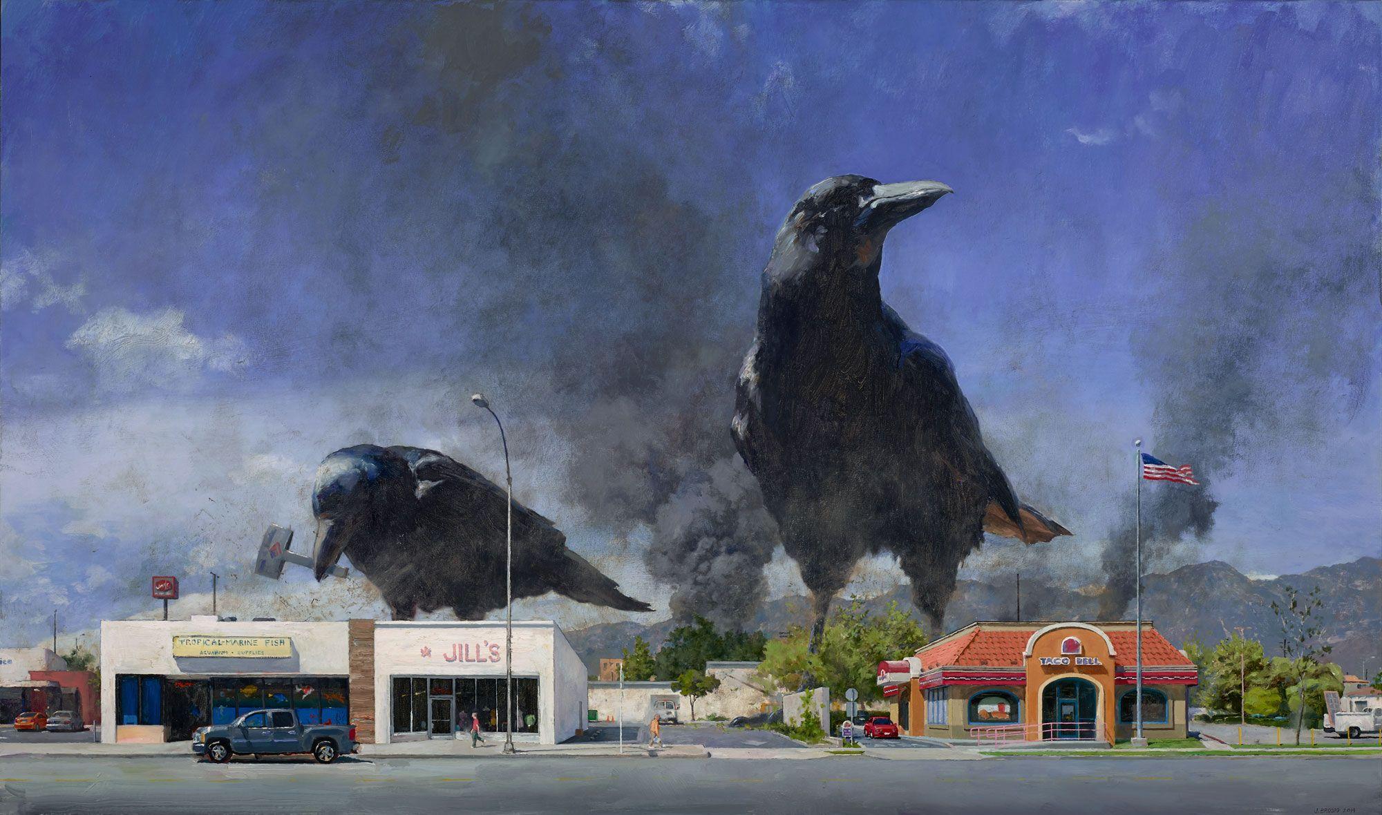 peintures de John Brosio