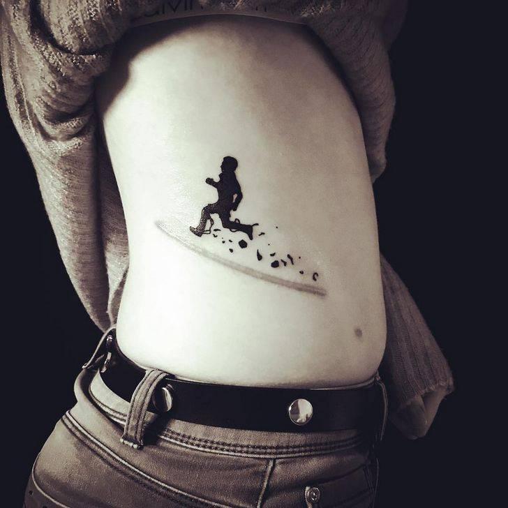 tatouages cicatrices tâches