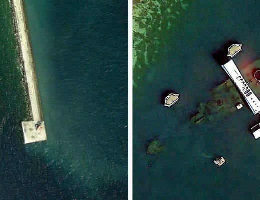 Découvertes sur Google Earth