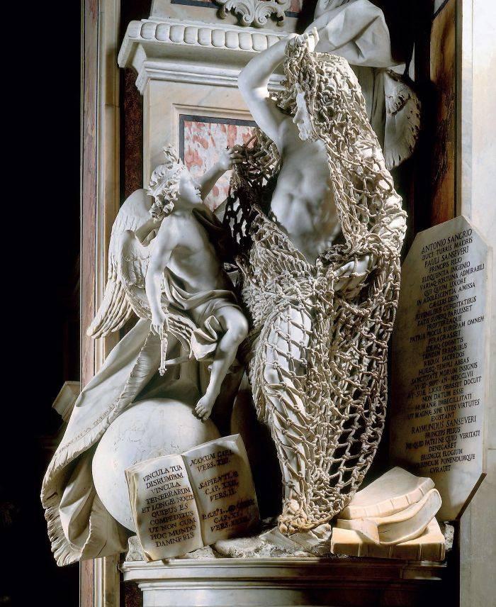 œuvre en marbre