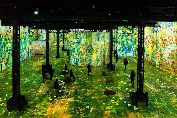 Atelier des Lumières Van Gogh Exposition Culturespaces