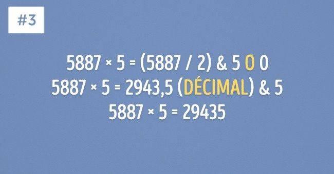 10Astuces mathématiques très simples