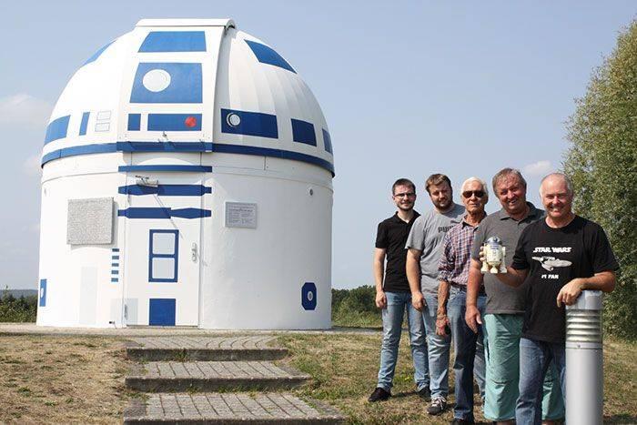 observatoire en R2-D2
