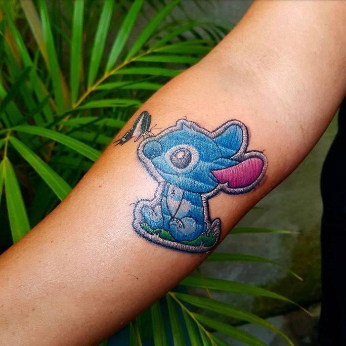tatouages de broderies