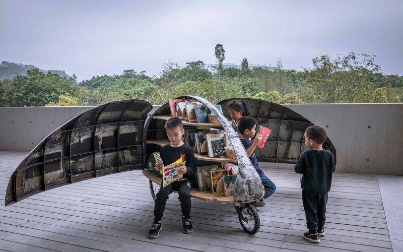 bibliothèque mobile