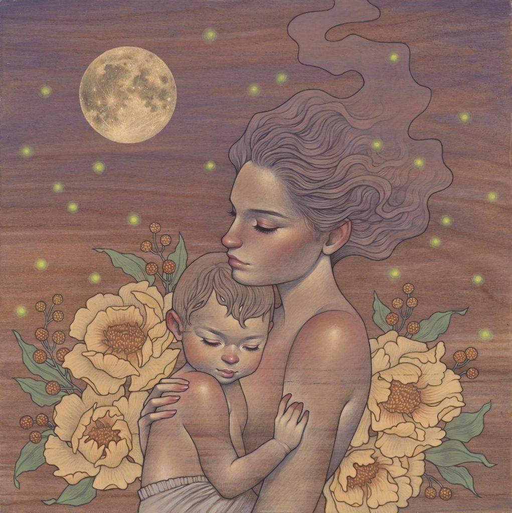 beauté de la maternité