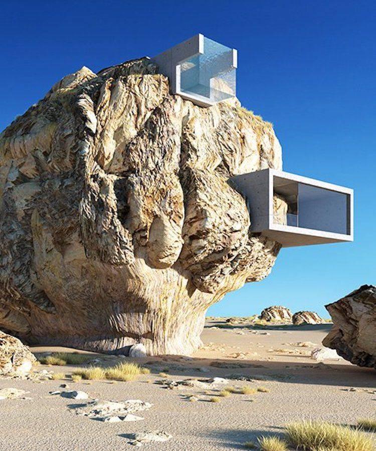 maison moderne minimaliste