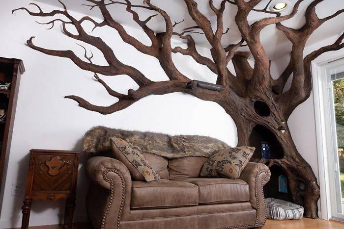 faux arbre
