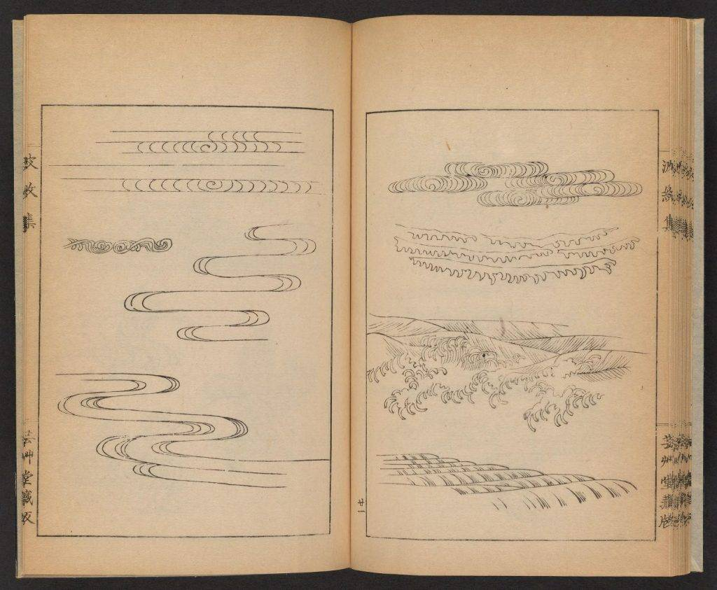 dessins de vagues