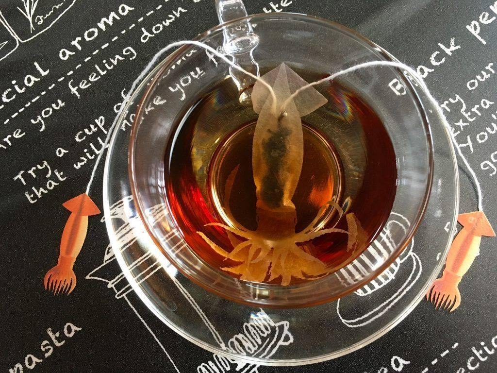 sachets de thé d'animaux