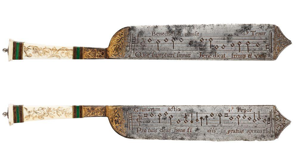 couteaux de notation