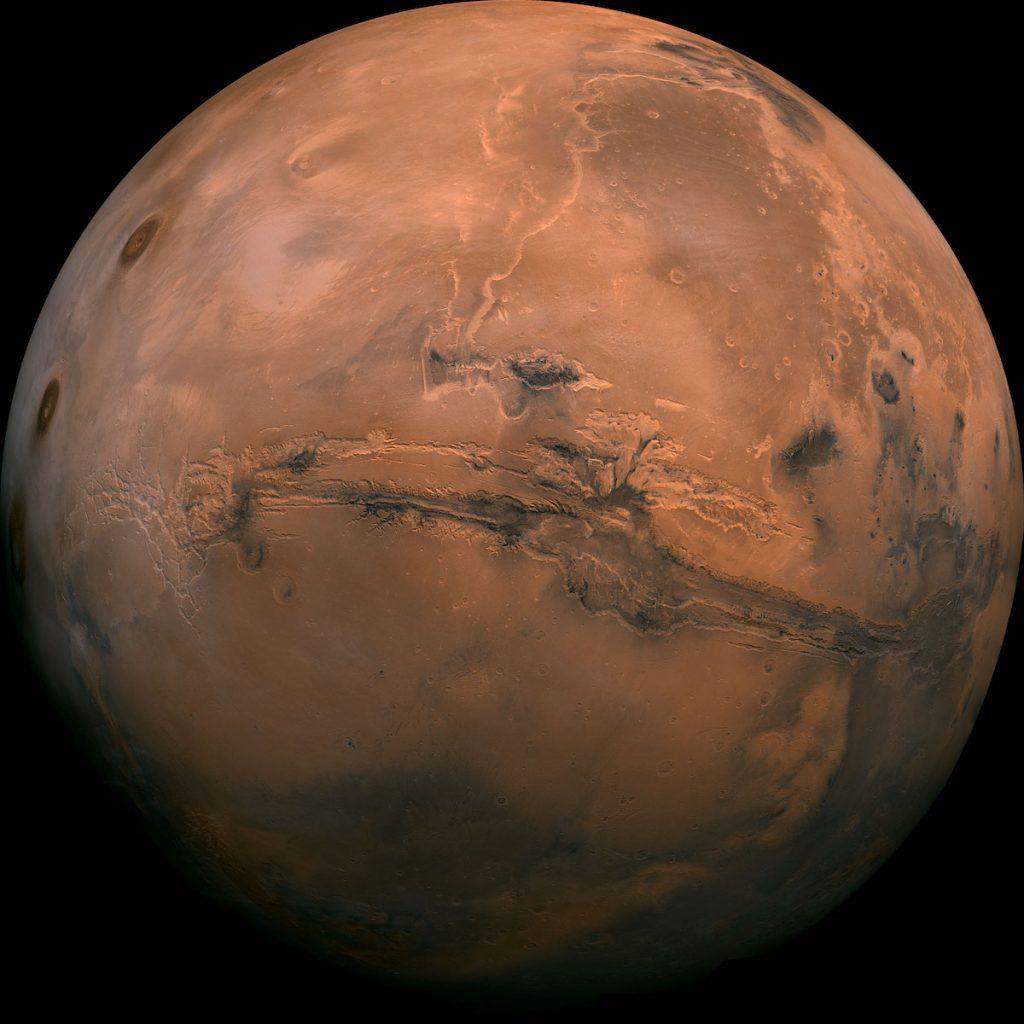 Grand Canyon de Mars
