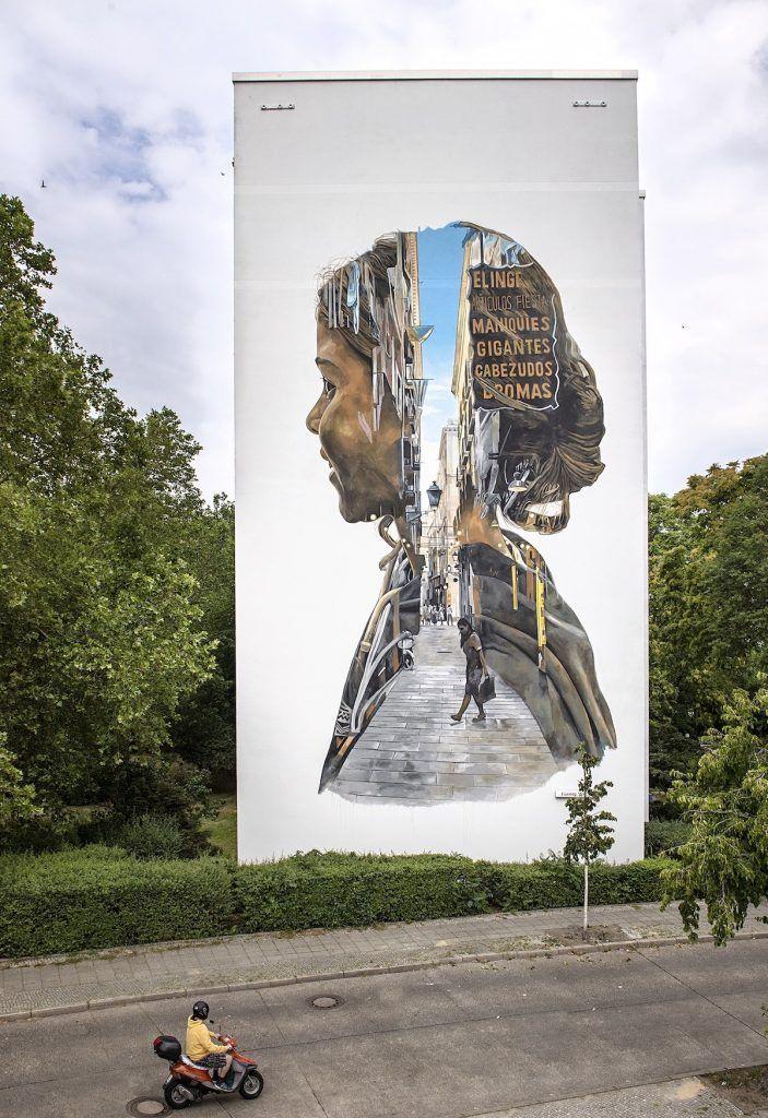 peinture murale géante