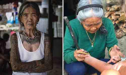 tatoueuse de 102 ans
