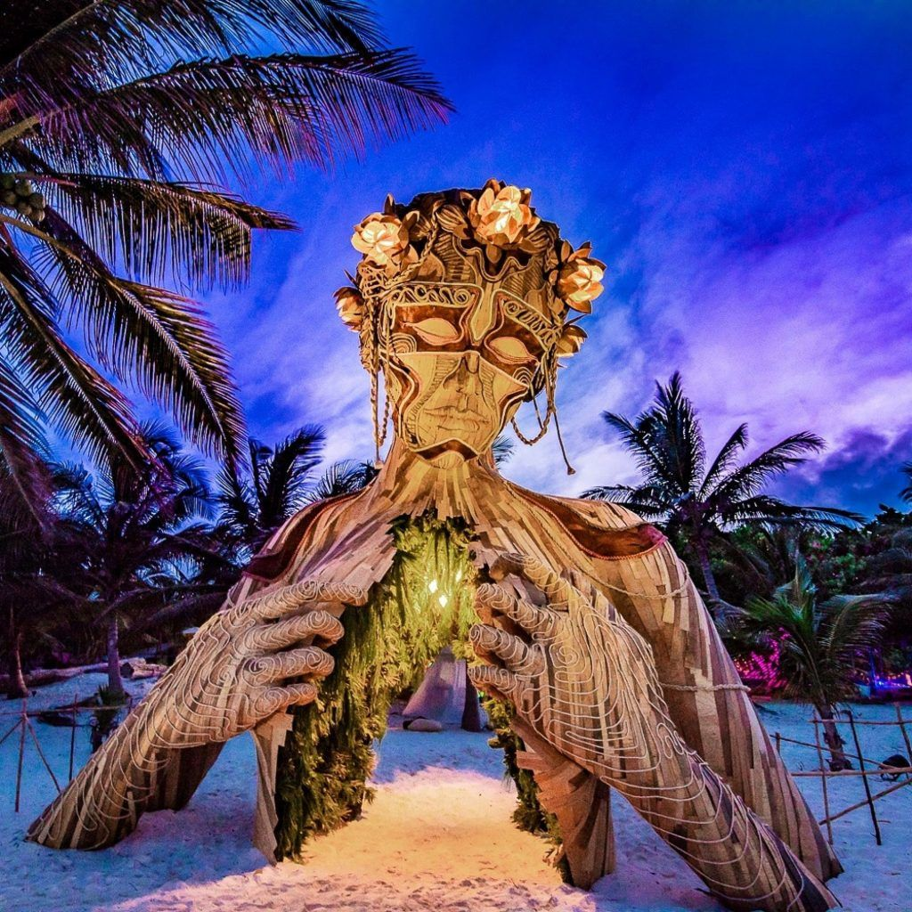 plage à Tulum