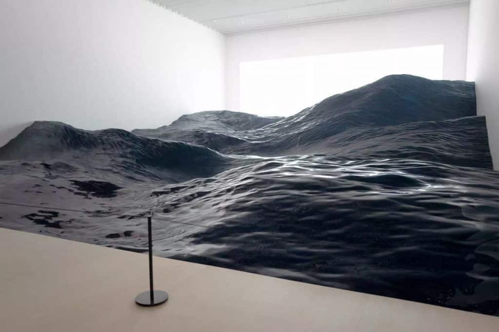 vagues sur un océan
