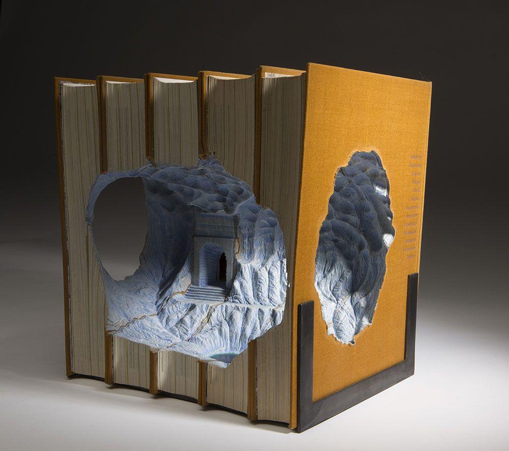 livres sculptés