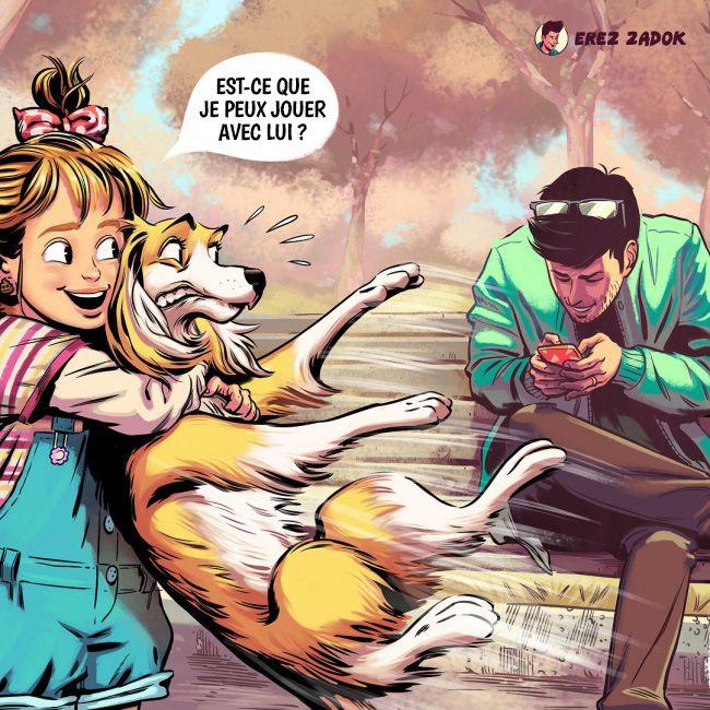 avec un chien