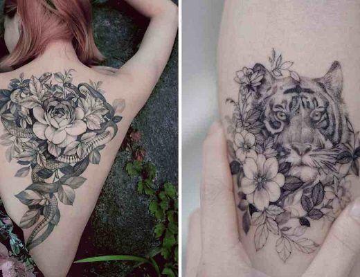 tatouages délicats