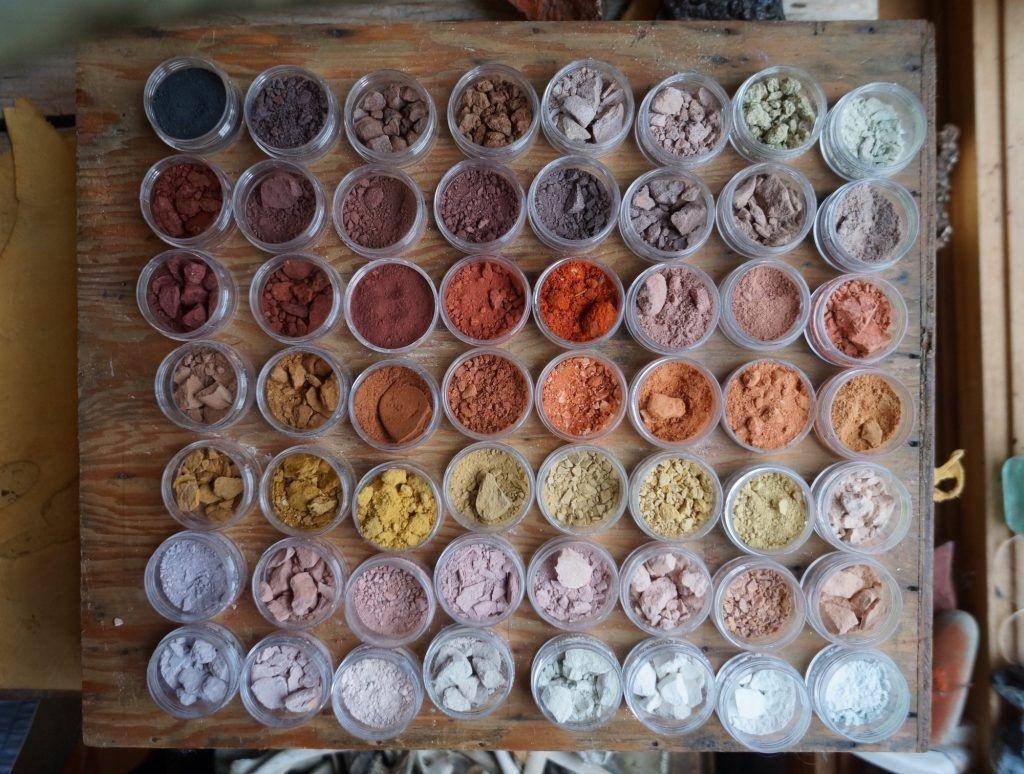 pigments ocres