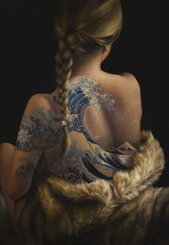 tatouages de chefs-d'oeuvre sont en réalité des peintures à l'huile