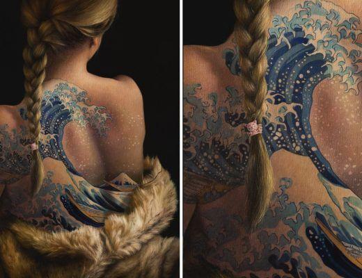 tatouages peintures