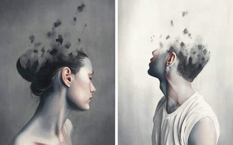 L'artiste slovaque Miroslav Zgabaj explore la question «Que peut-on lire du visage humain?» Dans une série de délicats portraits à l'aquarelle.