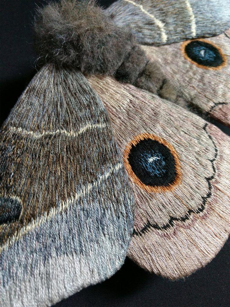 sculptures papillons