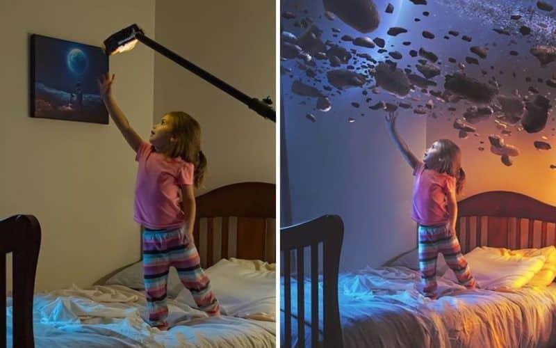 avant et après Photoshop