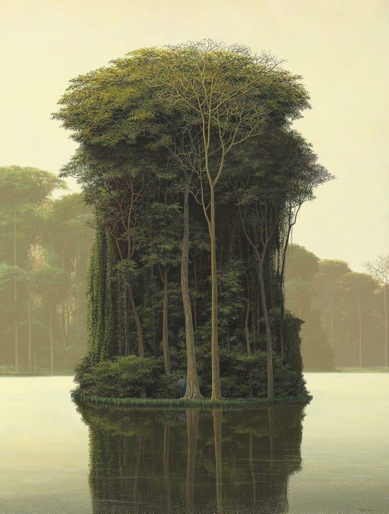 peintures de paysages Tomás Sánchez