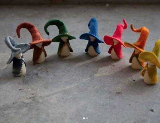 créant des petites créatures