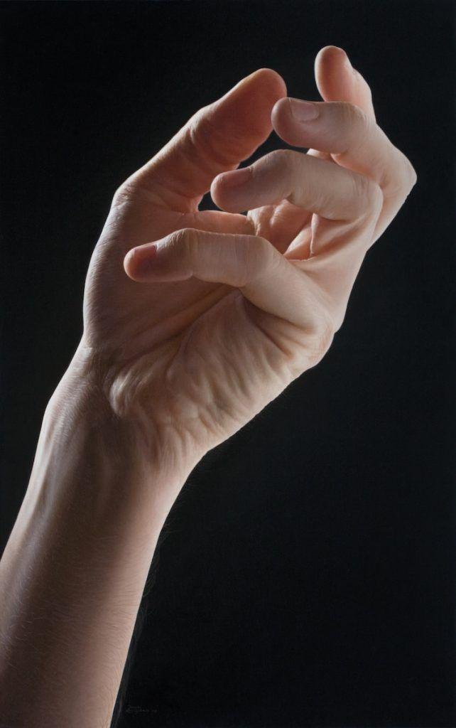 mains hyperréalistes