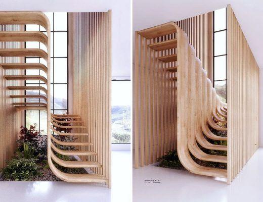 escalier lyrique