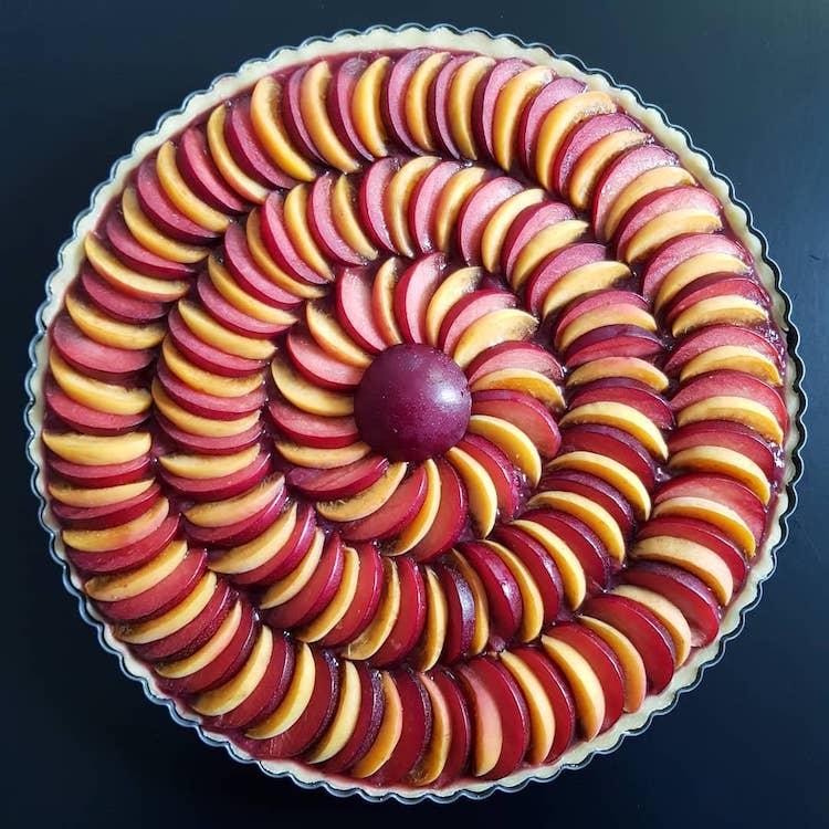 décorations de tartes