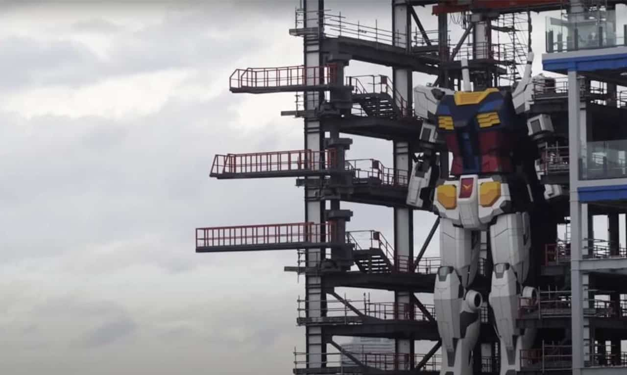 robot géant Gundam