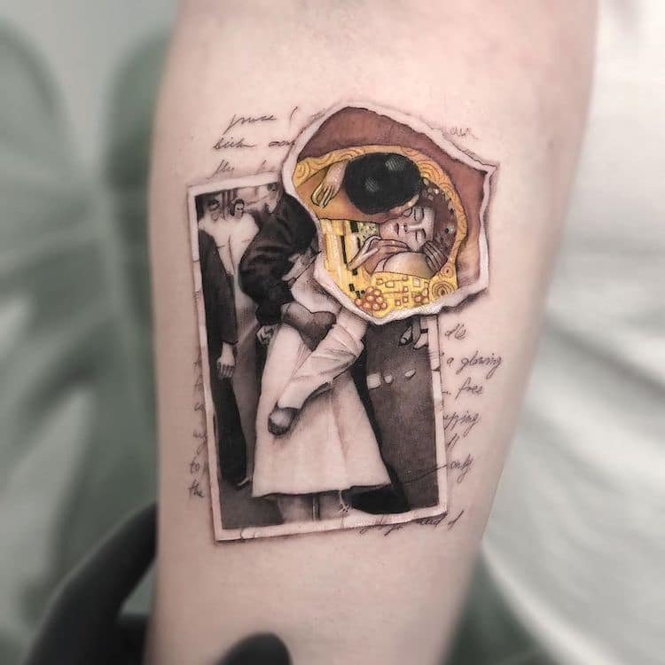 tatouages de la culture pop
