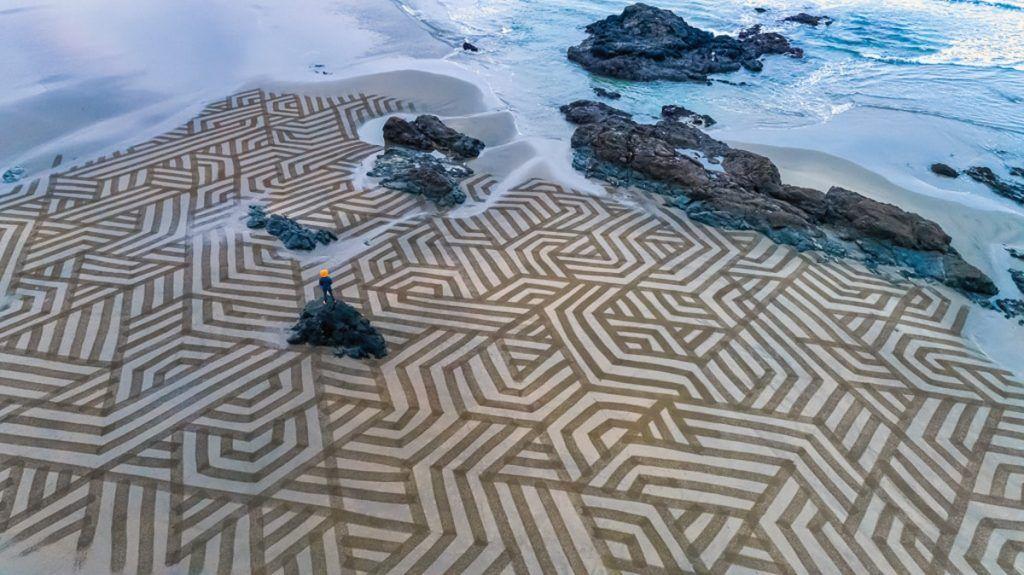 créations de sable