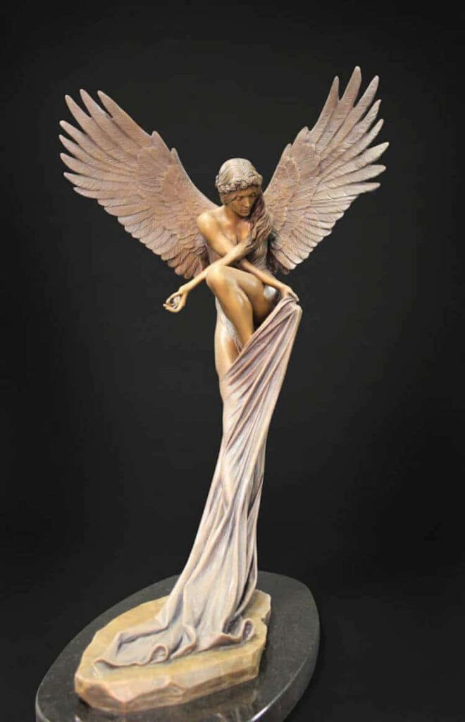 sculpture d'ange