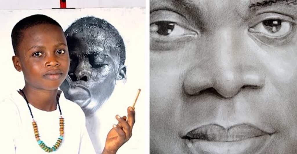 artiste nigérian de 11 ans