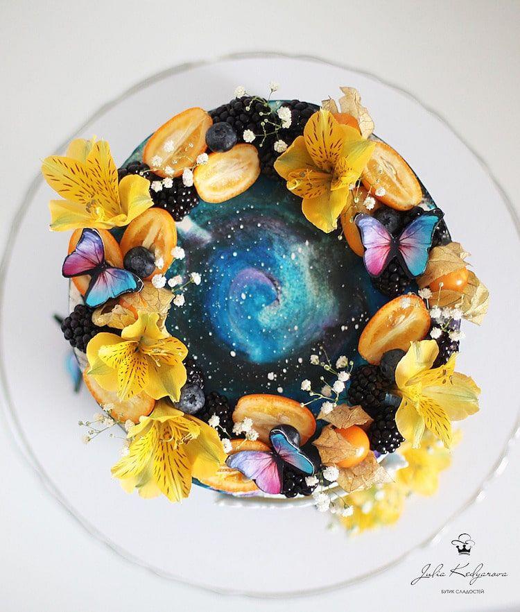 gâteaux galaxies