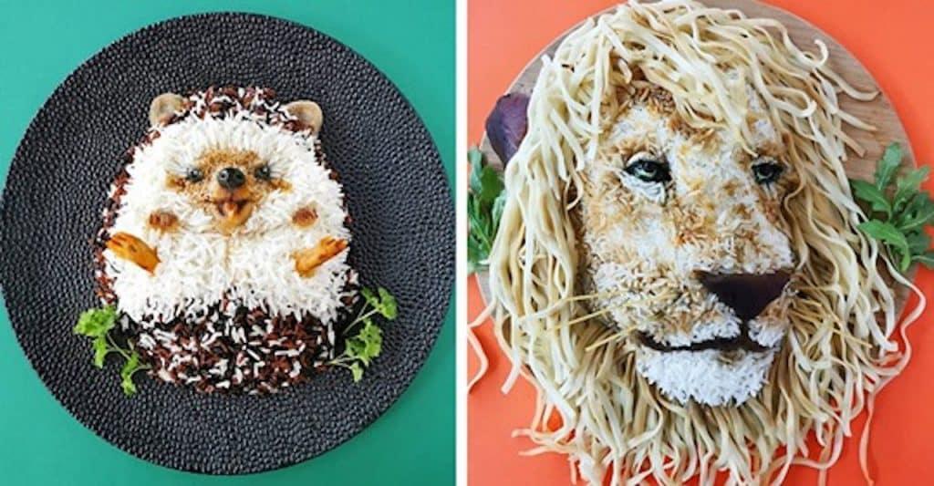 repas créatifs