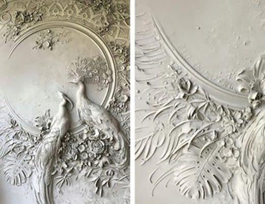 sculptures en relief